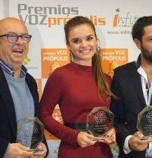 Premios Voz própolis, por una garganta naturalmente cuidada
