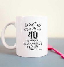 """""""20 años no es nada"""", pero 40…"""