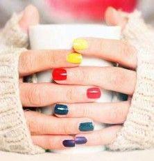 Para uñas colores