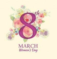 ¡Feliz día de la mujer!