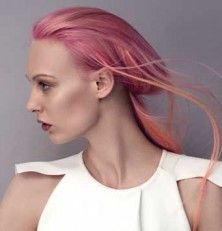 in flashy colours, teñirse el pelo es divertido