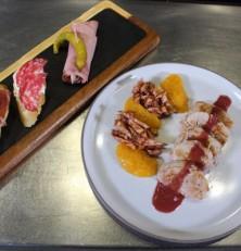 Menú de fiesta con carne de cerdo, por el chef Víctor Cuevas