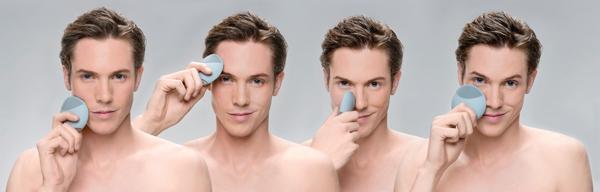 La limpieza facial fácil es cosa de hombres