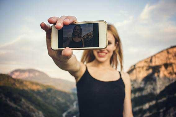 hazte un selfie sin filtros